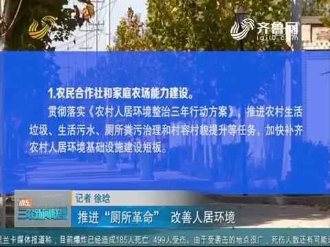 """【2019年重点强农惠农政策解读(四)】推进""""厕所革命""""图片"""