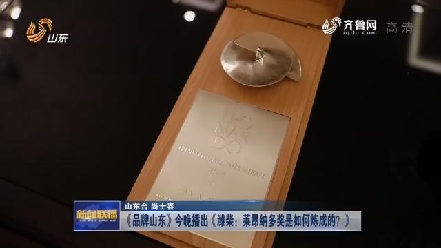 《品牌山东》今晚播出《潍柴:莱昂纳多奖是如何炼成的?》