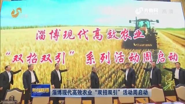 """淄博现代高效农业""""双招双引""""活动周启动"""