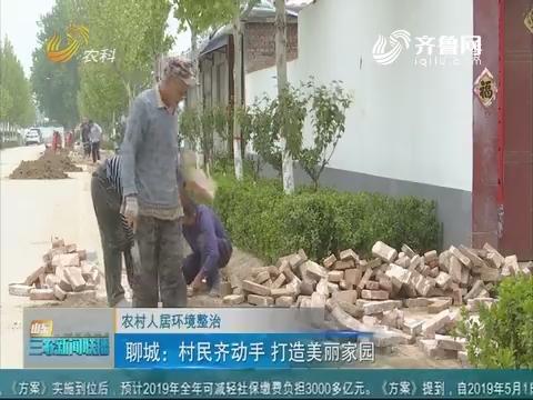 【农村人居环境整治】聊城:村民齐动手 打造美丽家园