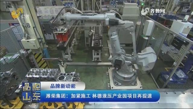 【品牌新动能】潍柴集团:加紧施工 林德液压产业园项目再提速