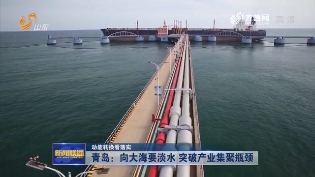 【动能转换看落实】青岛:向大海要淡水 突破产业集聚瓶颈
