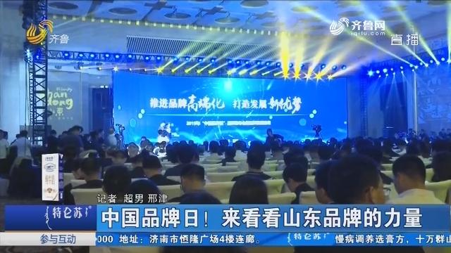 济南:中国品牌日!来看看山东品牌的力量