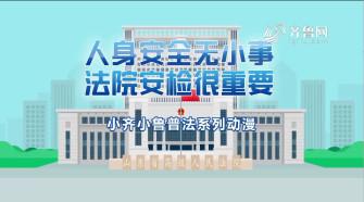 《法院在线》05-11播出:《人身安全无小事 法院安检很重要》