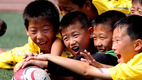 中国体育彩票杯威海市中小学生足球联赛开幕