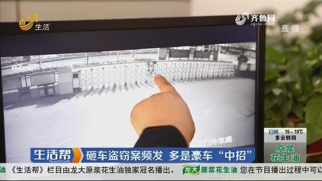"""菏泽:砸车盗窃案频发 多是豪车""""中招"""""""