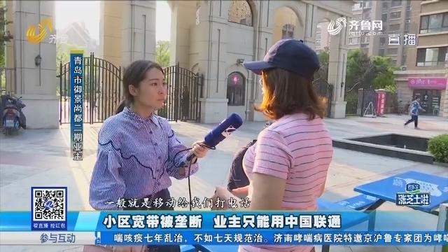 青岛:小区宽带被垄断 业主只能用中国联通