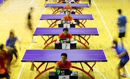 烟台市芝罘区第四届乒乓球会员联赛落幕