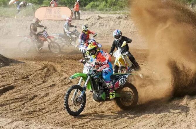 莱阳举办首届越野摩托车邀请赛