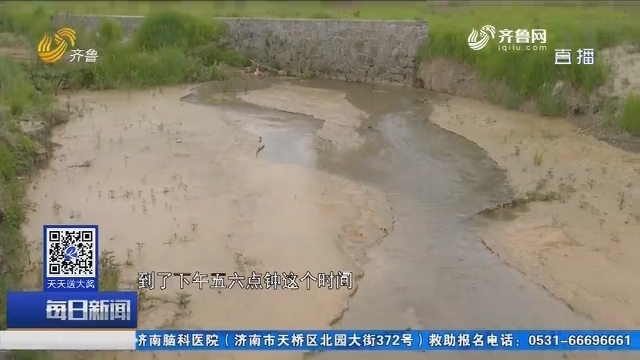 """追踪:上游有人洗砂 下游变成""""黄河"""""""