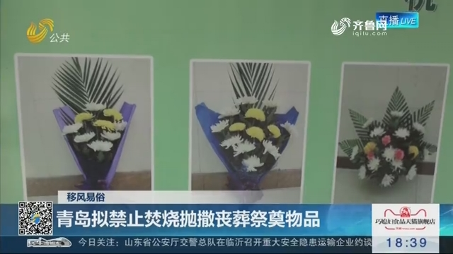 【移风易俗】青岛拟禁止焚烧抛撒丧葬祭奠物品