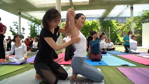 日照白鹭湾瑜伽节 掀起时尚健身新热潮