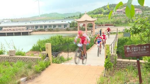 山东省青少年山地自行车锦标赛文登举行