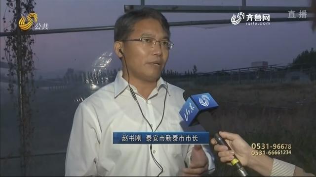 """【问政山东】采煤沉陷区建起先进""""农光互补项目"""" 两年后却杂草丛生"""