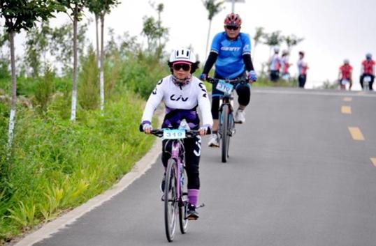 第四届捷安特全国单车耐力赛日照举行
