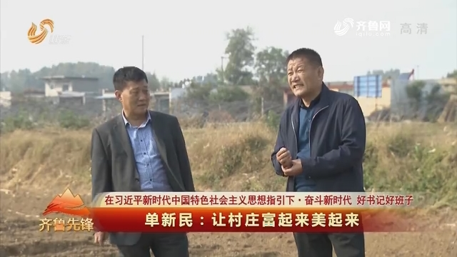 20190602《齐鲁先锋》:在习近平新时代中国特色社会主义思想指引下·奋斗新时代 好书记好班子 单新民——让村庄富起来美起来