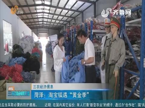 """【三农经济信息】菏泽:淘宝镇遇""""黃金季"""""""
