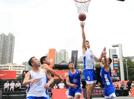 2019中国三对三篮球联赛山东赛区德州预选赛开赛