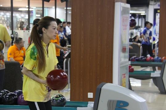 山东省第九届全民健身运动会保龄球赛落下帷幕