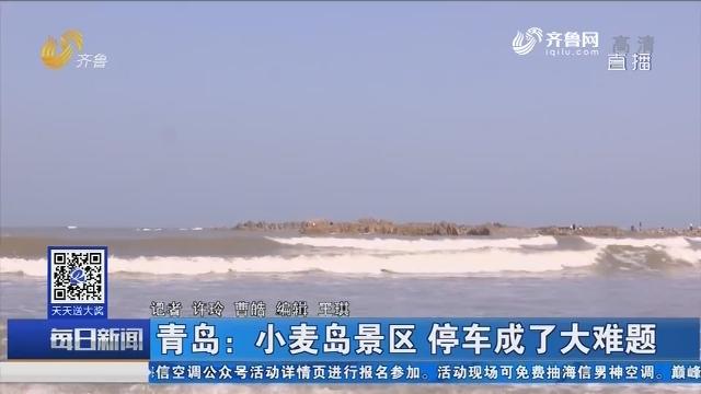 青岛:小麦岛景区 停车成了大难题