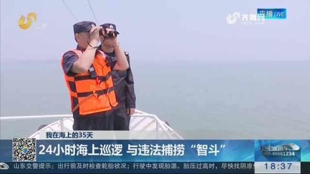 """【我在海上的35天】青岛:24小时海上巡逻 与违法捕捞""""智斗"""""""