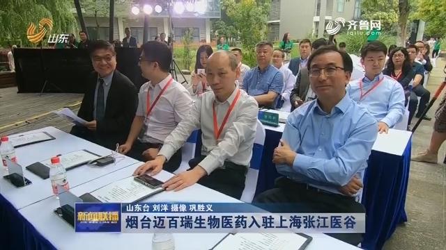 烟台迈百瑞生物医药入驻上海张江医谷