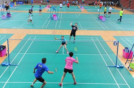 山东省大学生羽毛球锦标赛烟台落幕