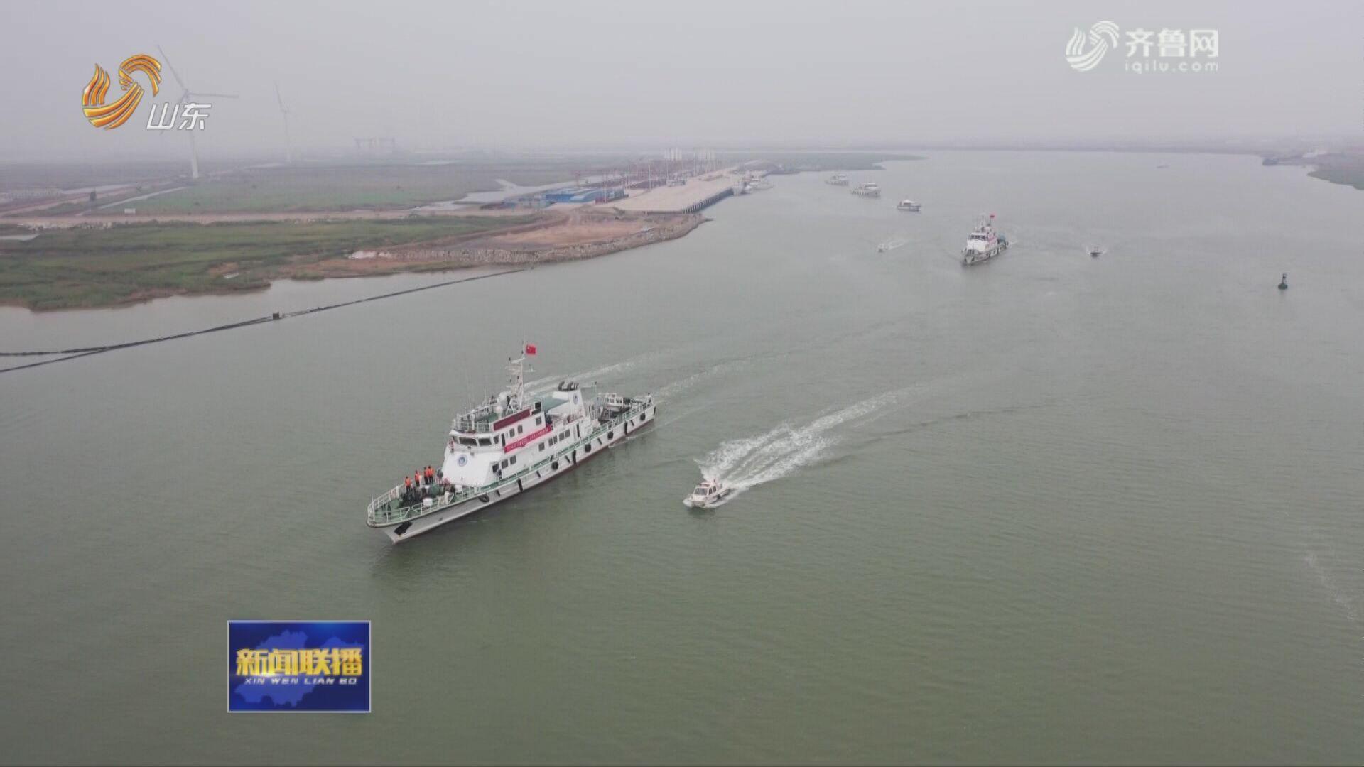 山东渔业船舶水上安全突发事件应急救援演练在寿光举行