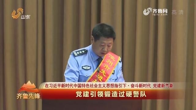 20190704《齐鲁先锋》:在习近平新时代中国特色社会主义思想指引下·奋斗新时代 党建新气象 党建引领锻造过硬警队