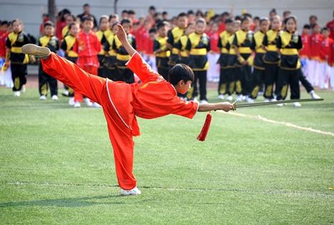 第四届中国武术非遗展演日照举行