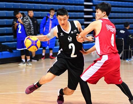 纪敏尚助阵 潍坊昌乐城市篮球联赛开幕