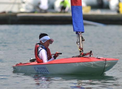 二青会OP帆船体校组预赛暨全国OP帆船锦标赛荣成开赛