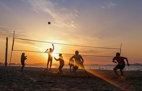 2019年体彩杯山东省沙滩排球锦标赛(乙组)荣成举行