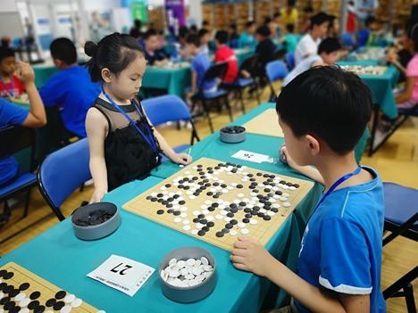 山东省少儿棋类运动会围棋比赛开幕