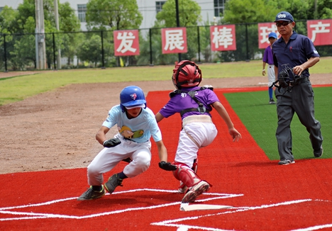 """""""玲珑轮胎杯""""亚太中东区青少年棒球锦标赛威海开赛"""