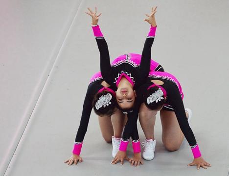 山东省第九届全民健身运动会健美操比赛高密举行
