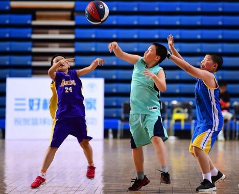 """""""中国体育彩票杯""""威海市中小学生篮球联赛文登开赛"""