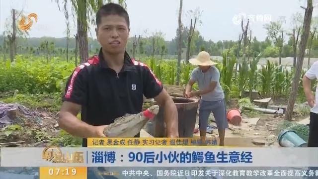 【闪电新闻排行榜】淄博:90后小伙的鳄鱼生意经