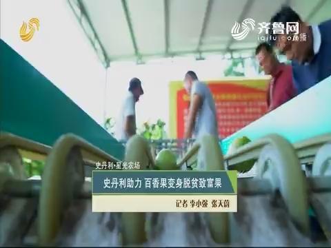 【史丹利·星光农场】史丹利助力 百香果变身脱贫致富果