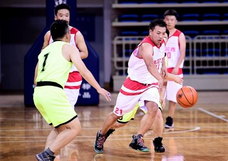 省派第一书记团队成武举行篮球友谊赛
