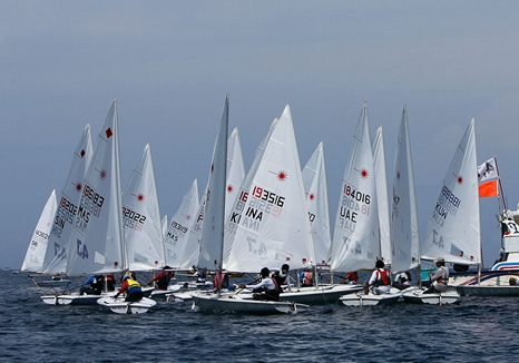 中国第二届青年帆船运动会日照成功举行