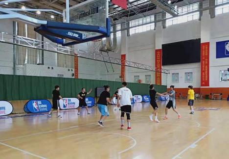 山东女篮基地备战全国女篮锦标赛