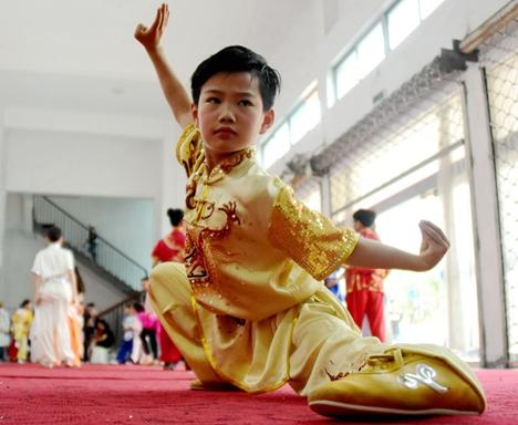 高密第一届红高粱武术文化节举行