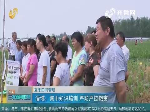 【夏季田园管理】淄博:集中知识培训 严防严控蛾害