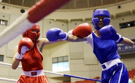 全国青少年搏击精英赛青州举办