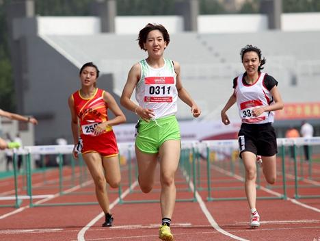 全国体育传统项目学校田径联赛青岛开赛