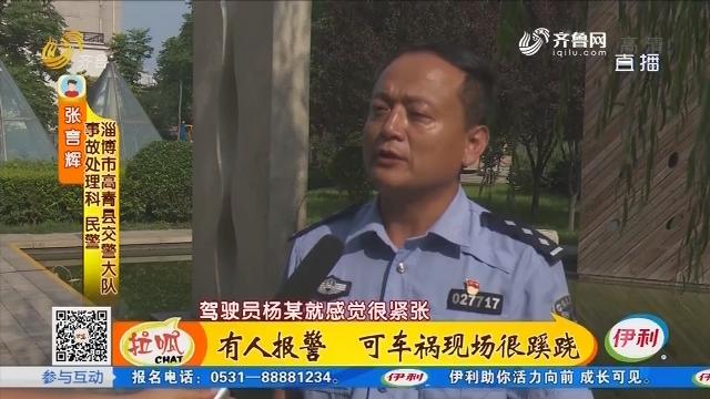 淄博:有人报警 可车祸现场很蹊跷