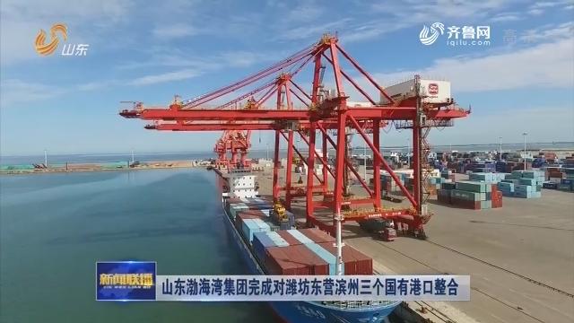山东渤海湾港口集团完成对潍坊东营滨州三个国有港口整合