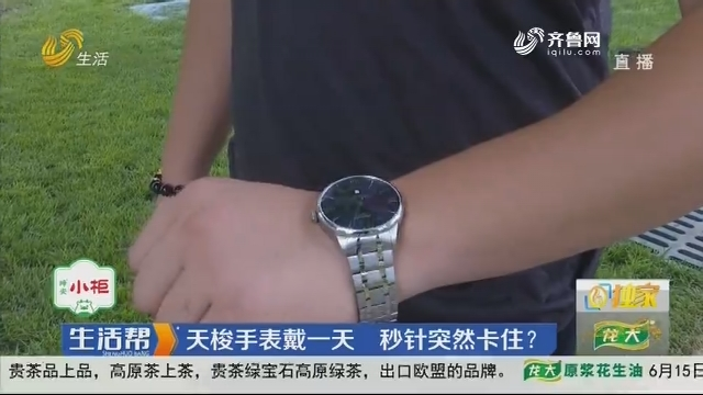 【独家】潍坊:天梭手表戴一天 秒针突然卡住?