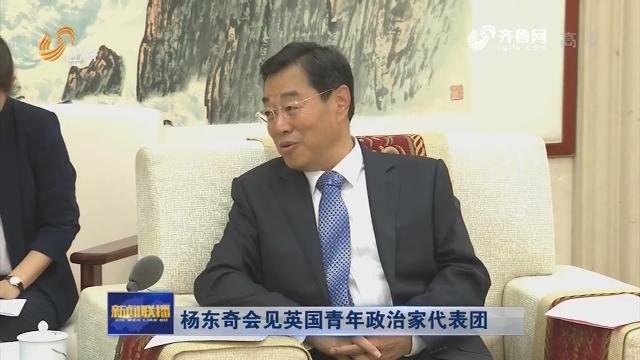 杨东奇会见英国青年政治家代表团